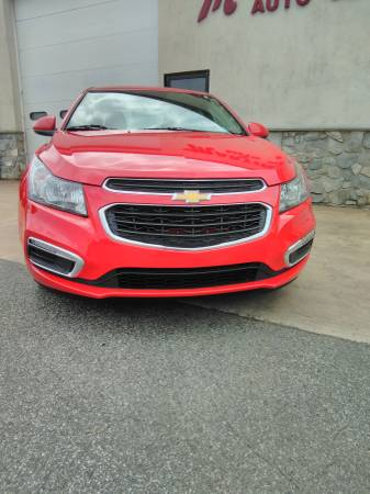 2015 Chevy Cruze front