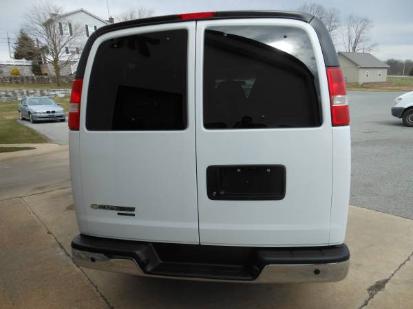 2015 Chevy Express Rear