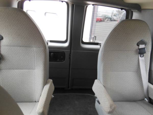 2015 Chevy Express Rear back seats