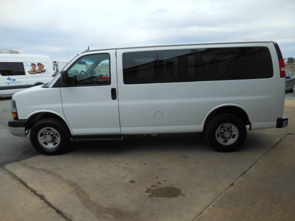 2015 Chevy Express Side