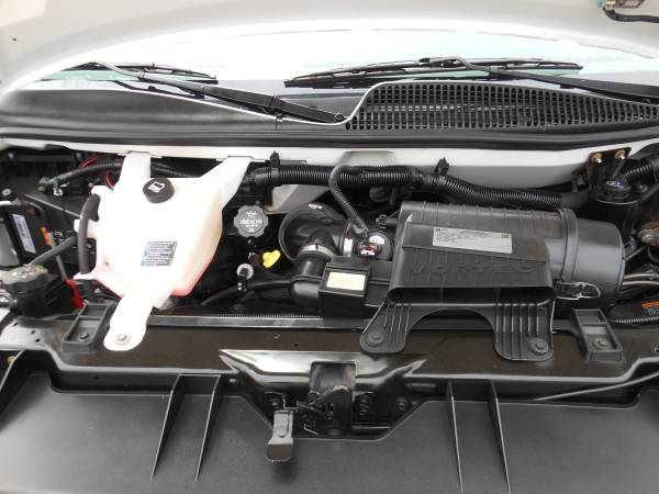 2015 Chevy Express engine