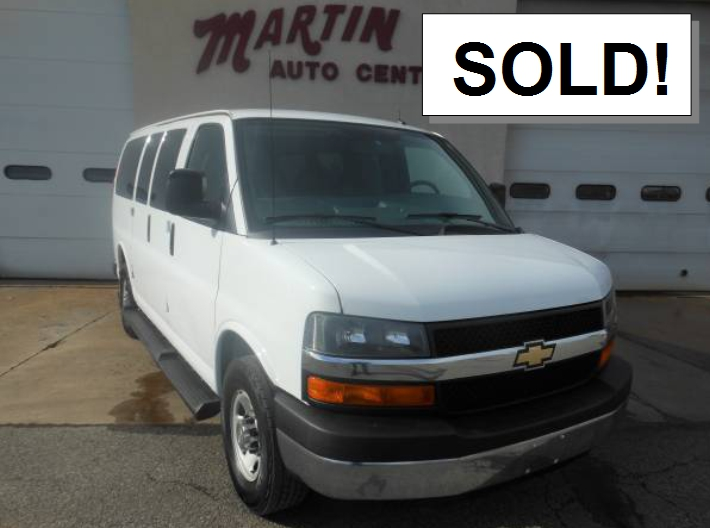 2016 cHEVY eXPRESS sold